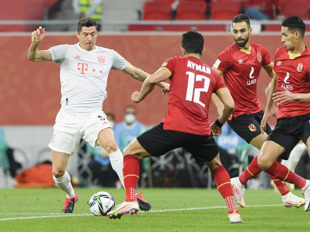 Lewandowski Brace,Bayern Lolos ke Final Piala Dunia Antarklub