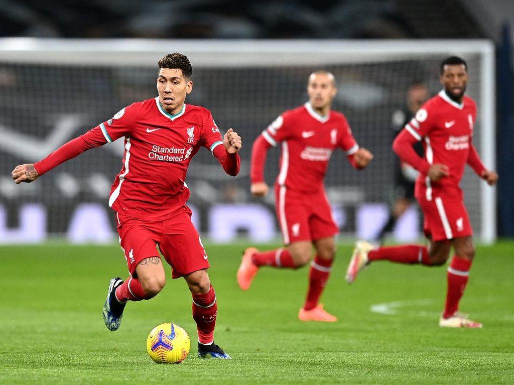 Liverpool Kehilangan Banyak Bek Tengah, Firmino: Pikir Positif Saja!