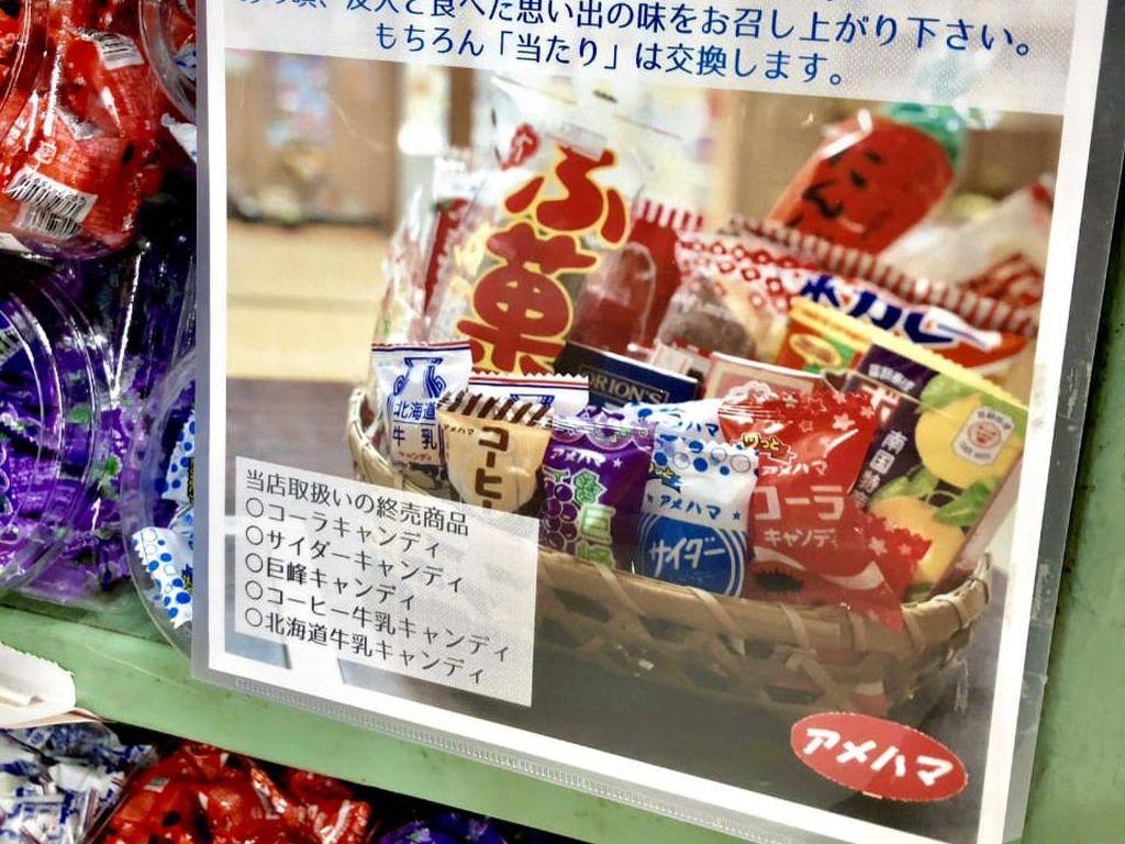 Toko Permen Tradisional Jepang Berusia 111 Tahun Tutup Selamanya