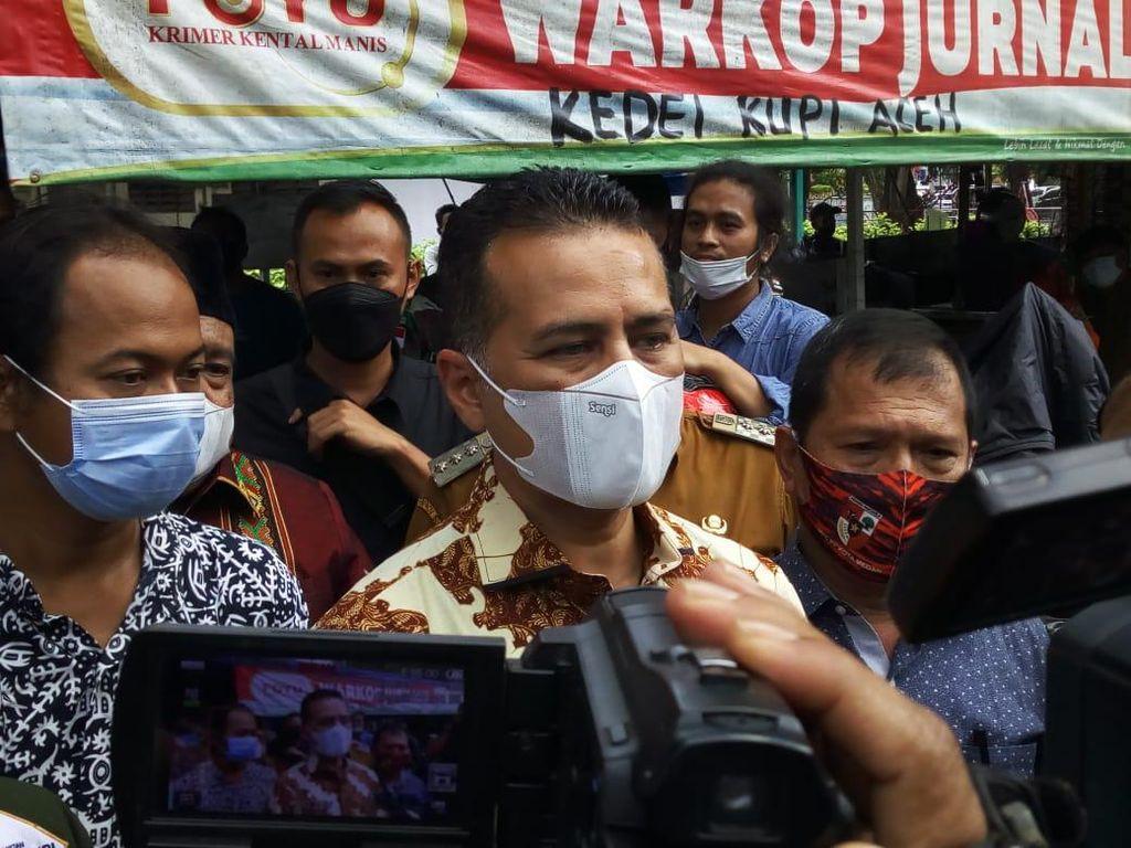 Wagub Ijeck Targetkan Wartawan di Sumut Divaksin Corona Maret