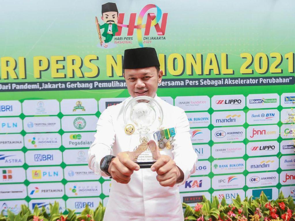 Bima Arya Sabet Penghargaan Anugerah Kebudayaan dari PWI Pusat