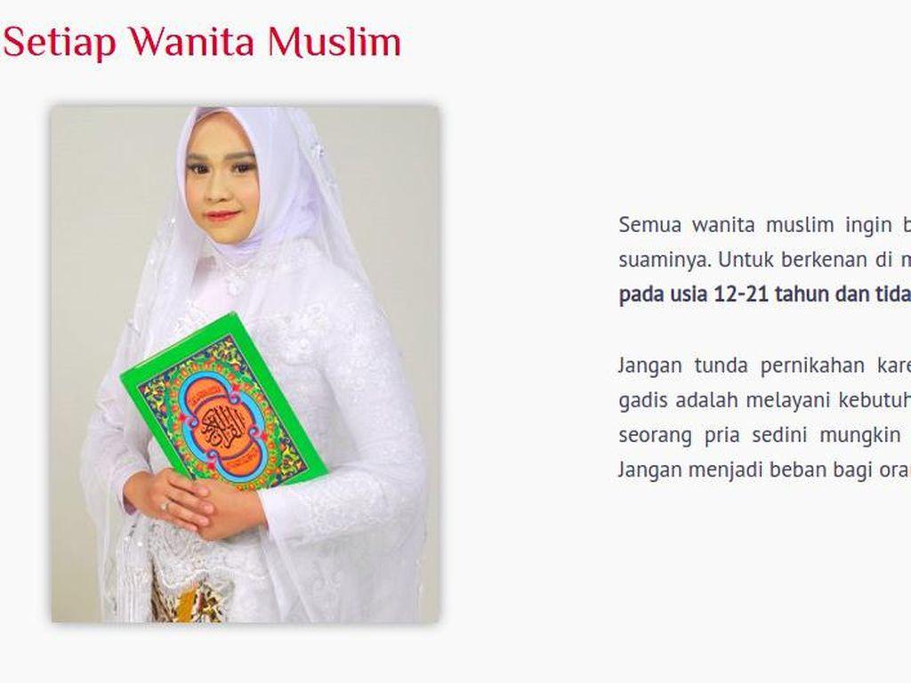 Heboh Aisha Weddings Promo Nikah Usia 12 Tahun, Begini Aturan di UU