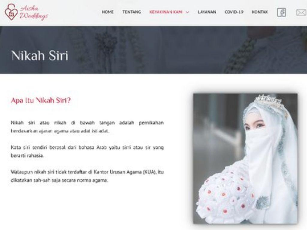 KPAI Adukan Aisha Weddings Promo Nikah Usia 12 Tahun ke Mabes Polri