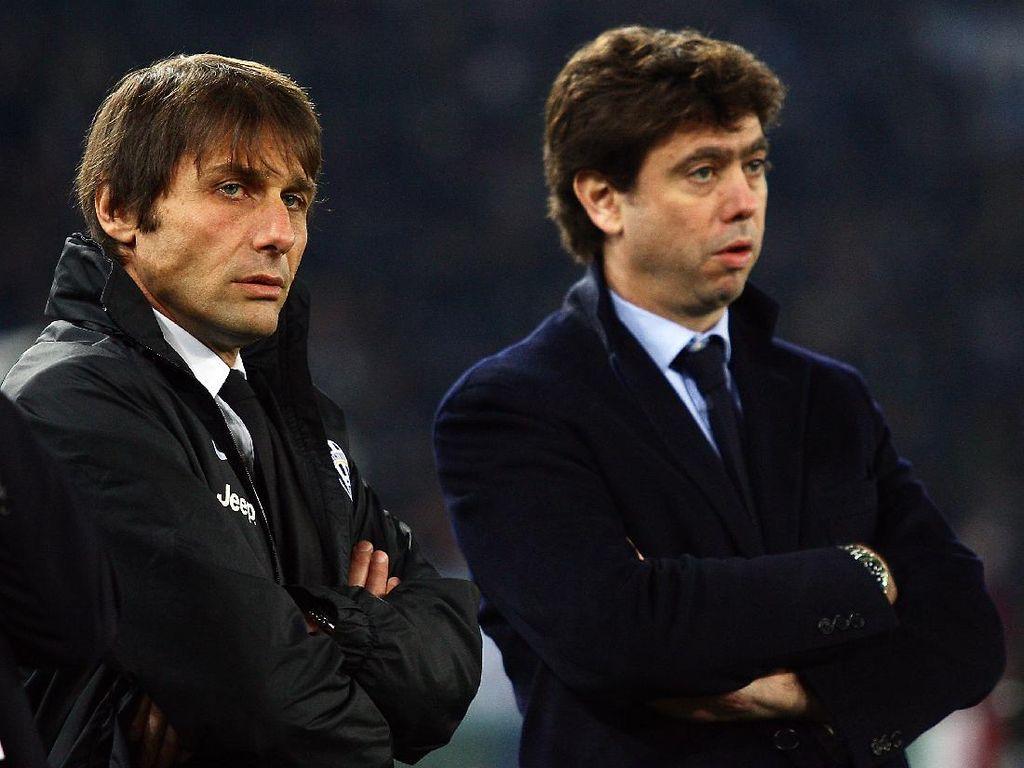Presiden Juventus Ribut dengan Conte, Kena Sindir Eks Bos Inter