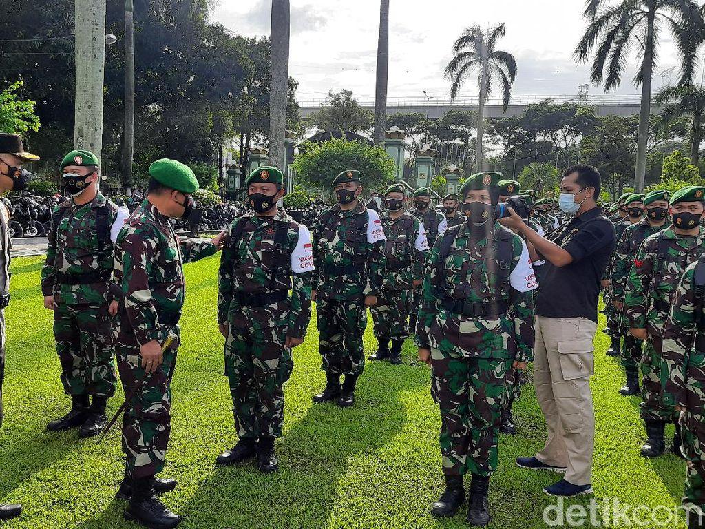 Pangdam Jaya Pimpin Apel Kesiapan Vaksinator TNI, Disebar ke Ribuan Desa