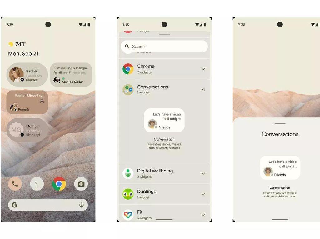 5 Fitur Unggulan Android 12 Snow Cone