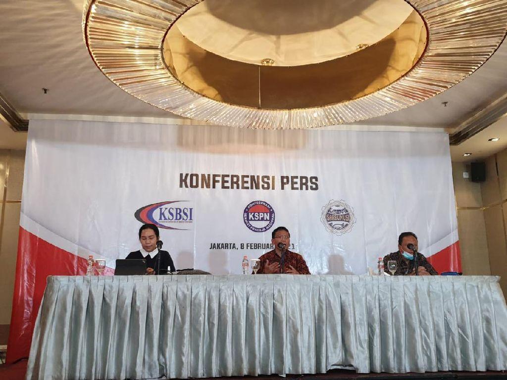 Tiga Konfederasi Buruh Soroti Kasus Pengelolaan Dana BPJAMSOSTEK