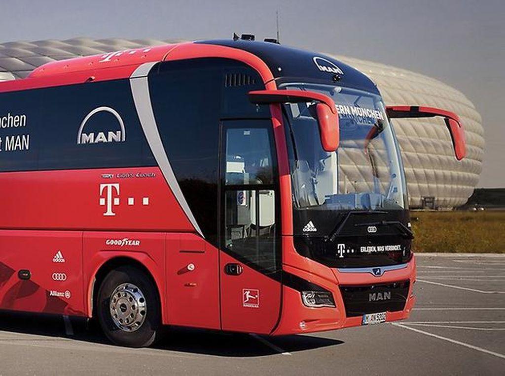Intip Bus Mewah Milik Klub Sepakbola Besar Eropa
