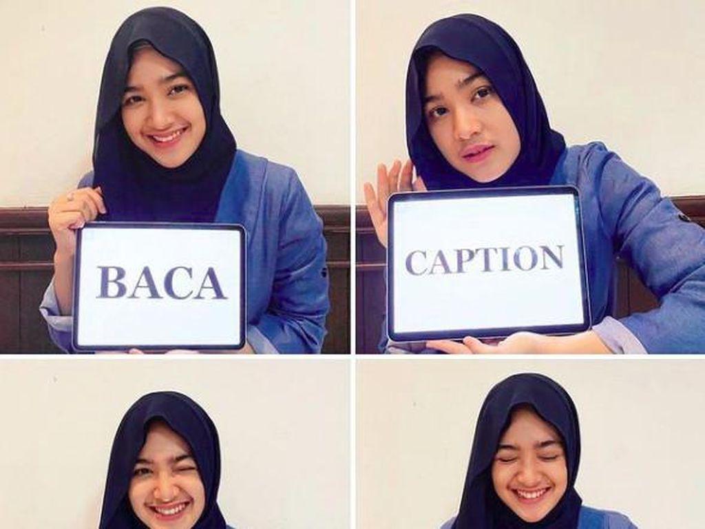 7 Potret Cut Syifa Memakai Hijab, Cantiknya Bikin Adem
