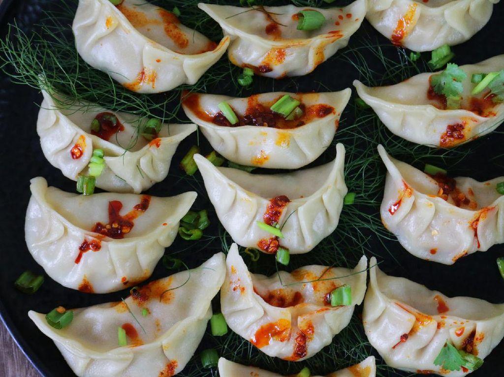 Resep Dimsum Ayam Udang Saus Szechuan untuk Imlek