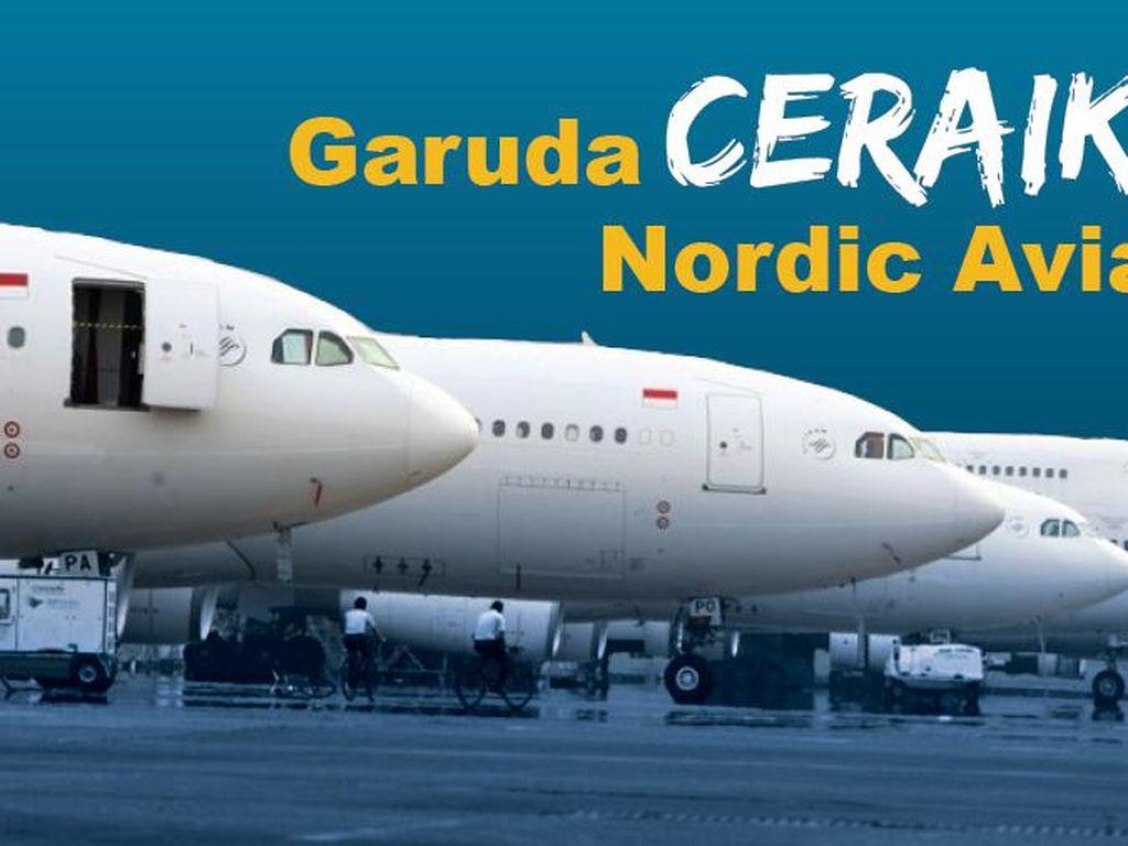Diceraikan Garuda, Nordic Aviation Buka Suara