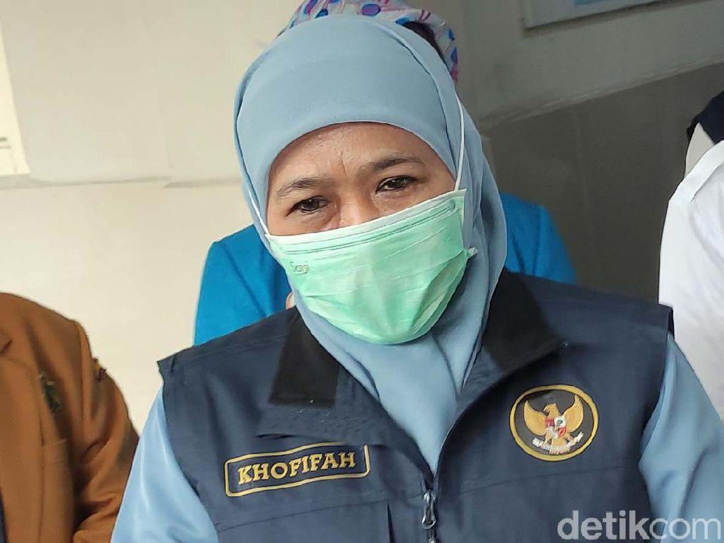 Libur Imlek, Khofifah Imbau Warga di Rumah Saja, ASN Dilarang Keluar Kota