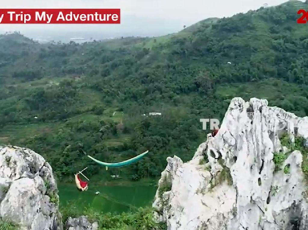 My Trip My Adventure: Mendaki Tebing dan Bersantai dengan Hammock
