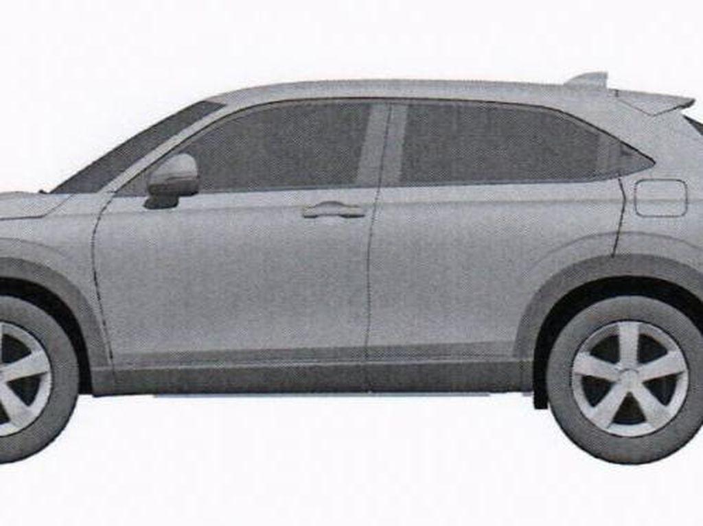 Begini Gambaran Honda HR-V Generasi Baru