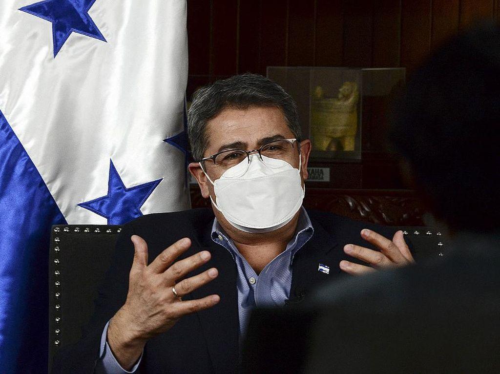 Presiden Honduras Diduga Terima Suap untuk Lindungi Gembong Narkoba