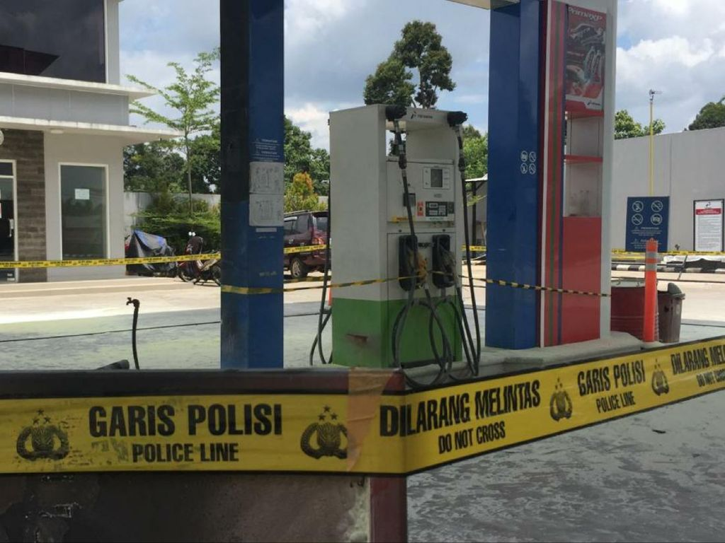 Mobil Meledak Saat Isi BBM di SPBU Sumsel, 3 Orang Terluka