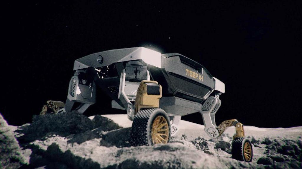 Hyundai Pamer Mobil Penjelajah Bulan