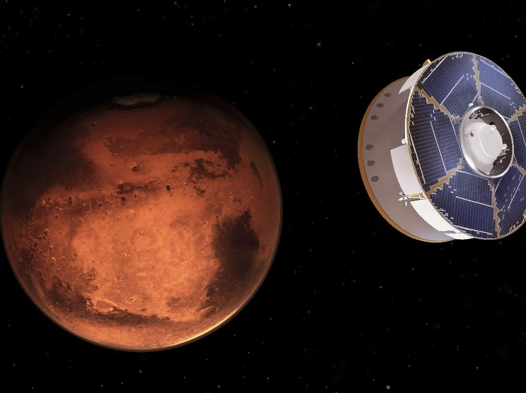 Temuan Baru Uap Air di Mars Diteliti Ilmuwan