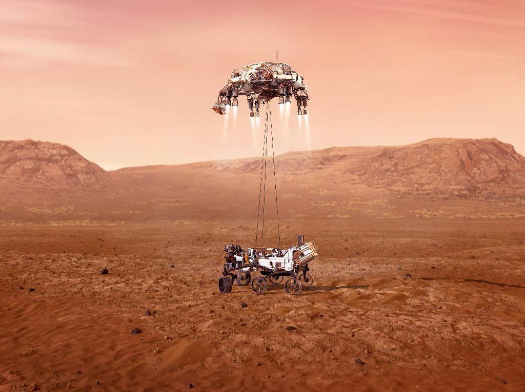 Cara Manusia Hidup di Mars