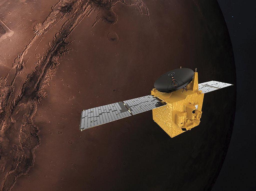 Wahana Hope, Mimpi Arab dan Dunia Islam Menggapai Mars