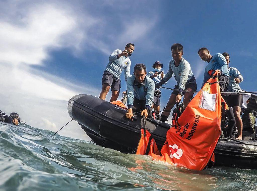 Bertambah 1, Total Korban Sriwijaya Air yang Teridentifikasi Jadi 59 Jenazah