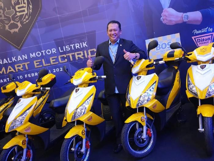 Motor listrik Bamsoet, Bike Smart