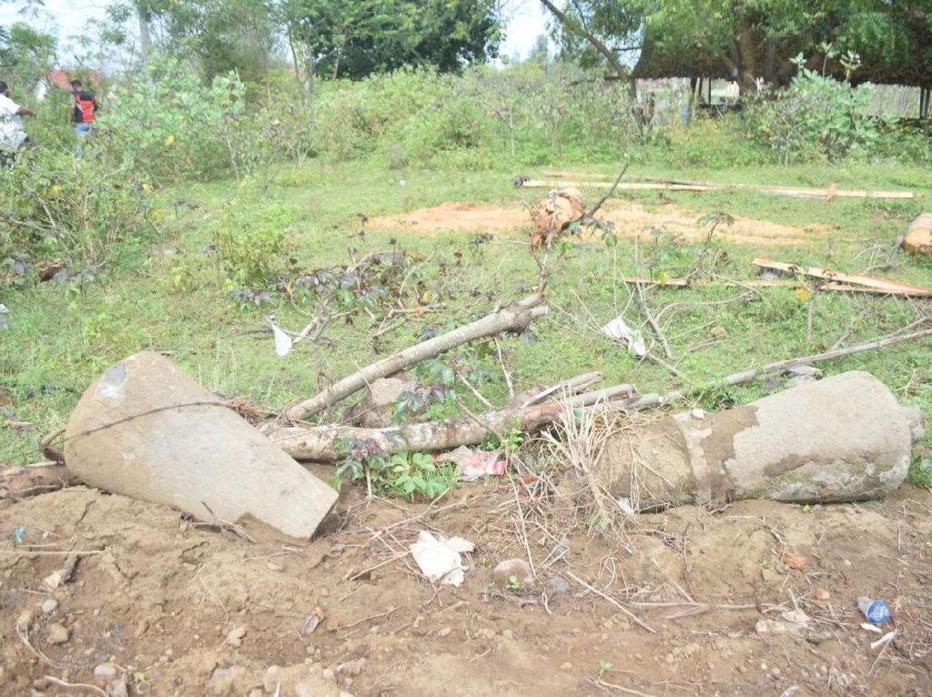 Arkeolog Perkirakan Nisan di Area Proyek Tol Aceh Peninggalan Abad Ke-18