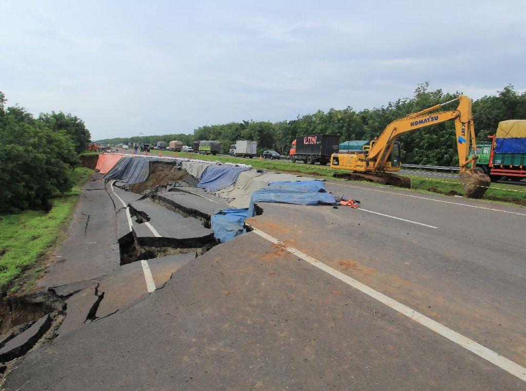 Perbaikan Dikebut, Jalur Contraflow Tol Cipali Diperpendek