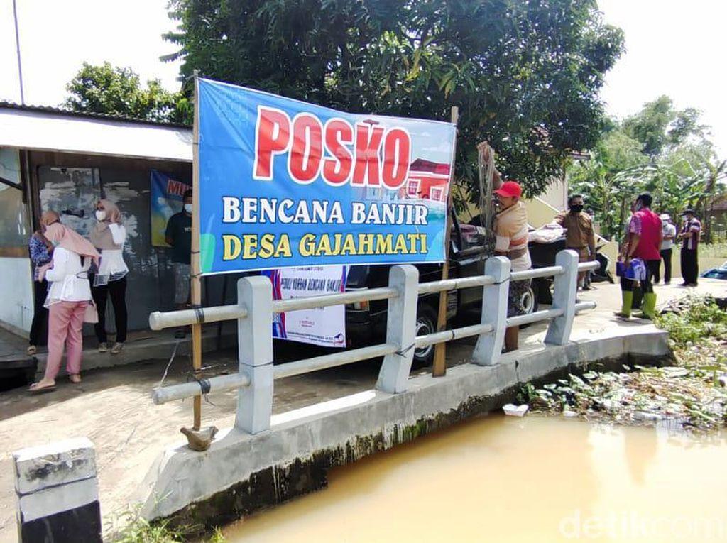 Banjir di Pati Belum Surut, 978 Orang Warga Mengungsi
