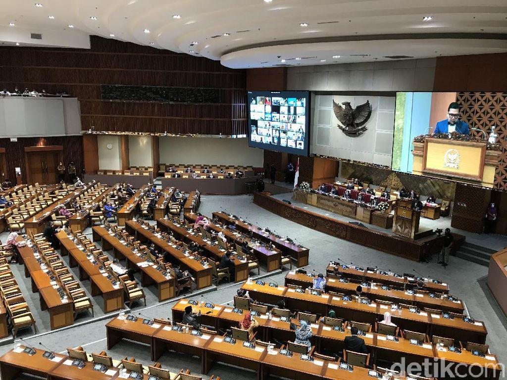 198 Anggota DPR Absen Paripurna Calon Anggota Ombudsman-Hakim MA