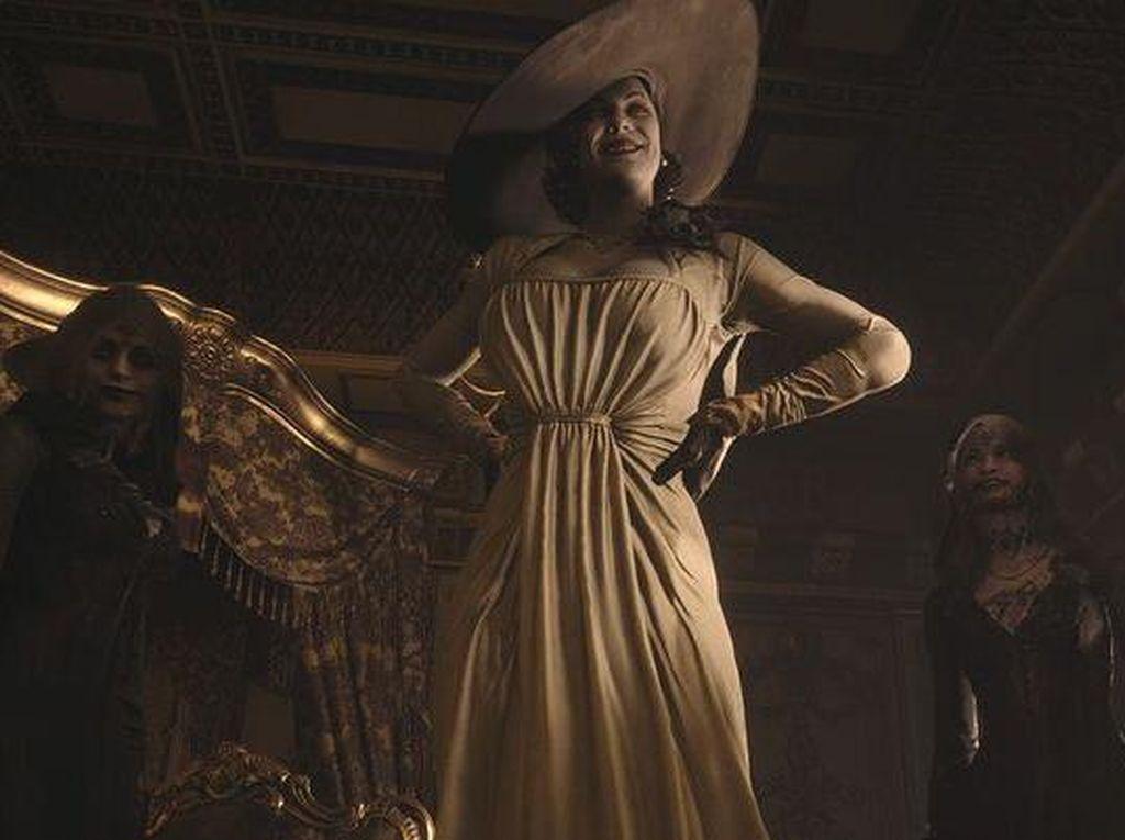Resident Evil Village Hadirkan Handuk Seukuran Lady Dimitrescu