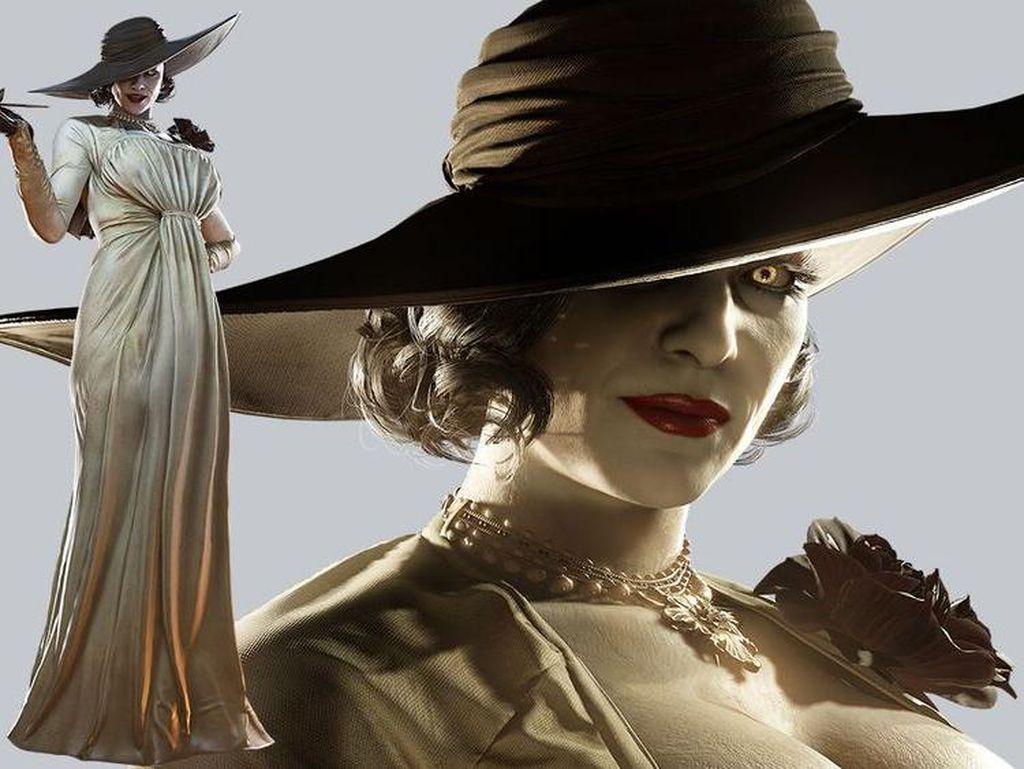 Lady Dimitrescu, Vampir Seksi Bikin Fans Resident Evil Menggila