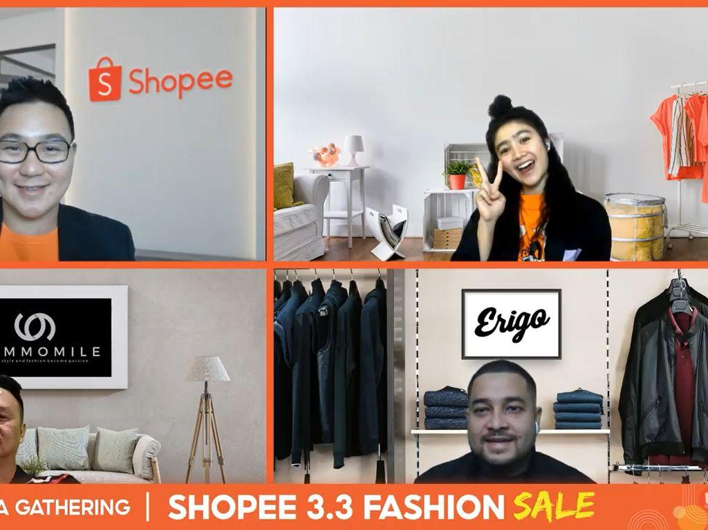 Dorong Bisnis & Tren Industri Fashion, Shopee Gelar 3.3 Fashion Sale