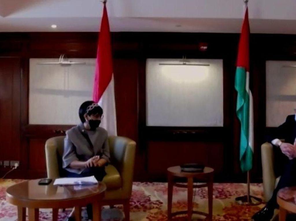 Kunjungi Palestina, Menlu Retno: RI Komitmen Bantu USD 2,3 Juta