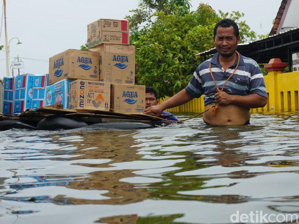 BPBD: Banjir di Demak Berdampak Pada Enam Kecamatan
