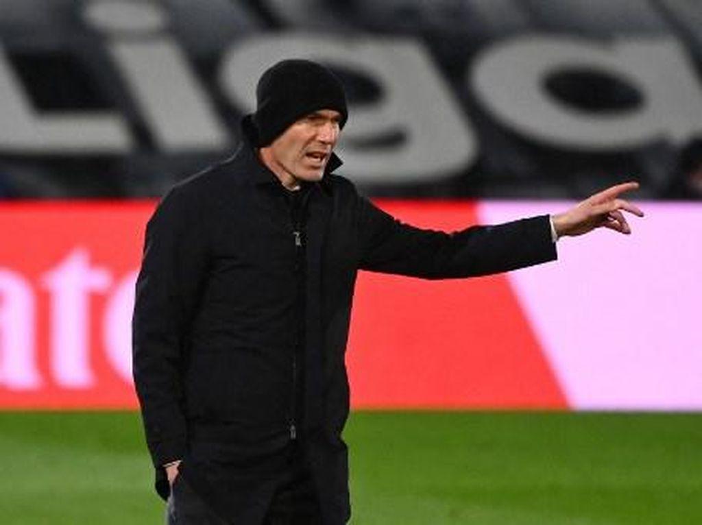 Real Madrid Memble! Zidane Terpaksa Gonta-ganti Formasi