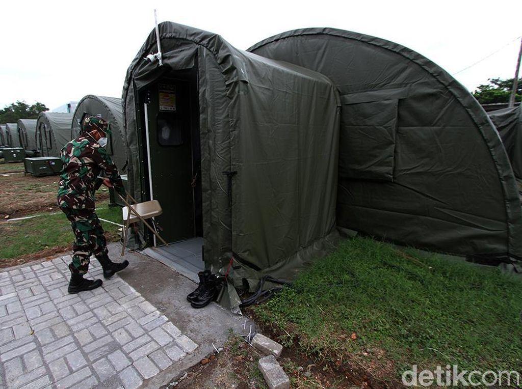 Penampakan RSD COVID-19 TNI AD di Benteng Vastenburg Solo