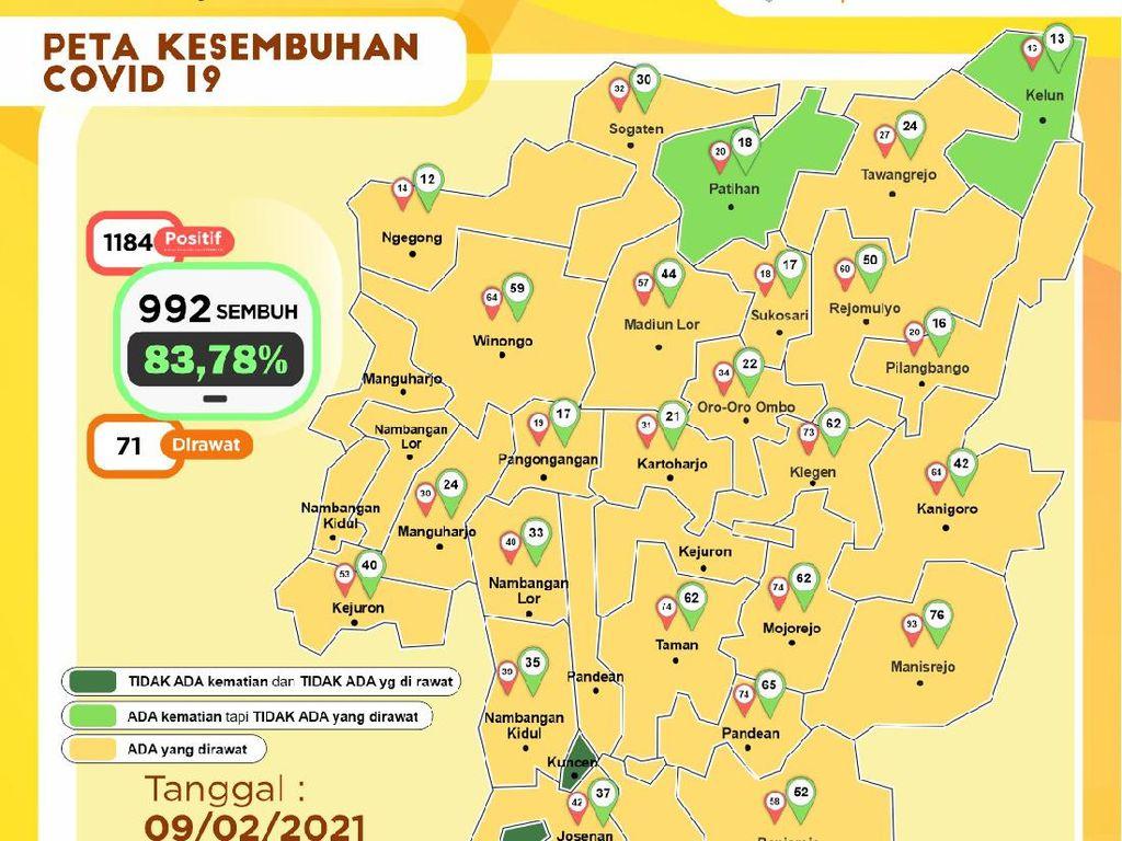Kota Madiun Masih Zona Merah di Hari Kedua PPKM Mikro, Kasus Aktif 102