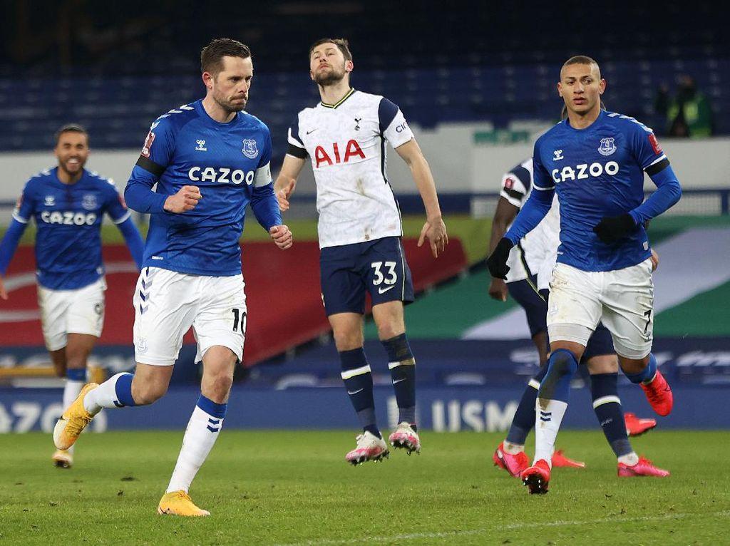 Everton Vs Tottenham: The Toffees Singkirkan The Lilywhites dari Piala FA