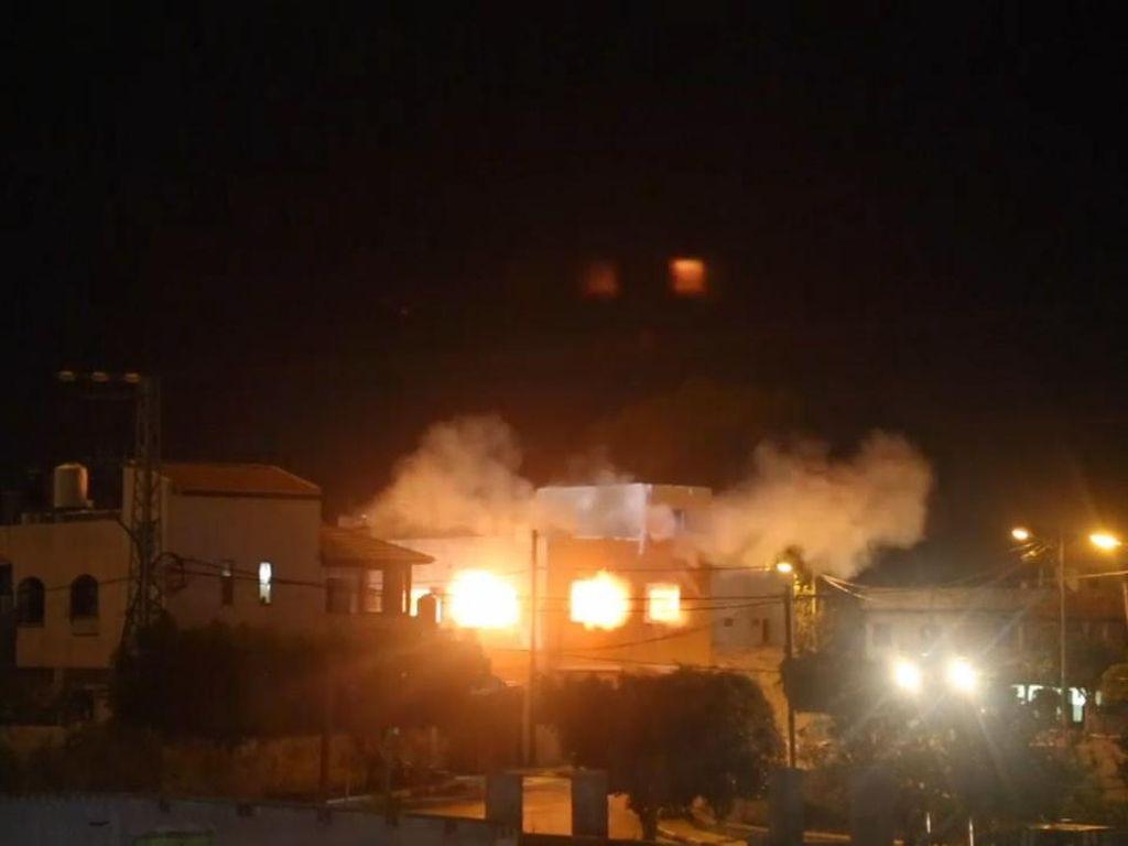 Israel Ledakkan Rumah Warga Palestina Pelaku Pembunuhan