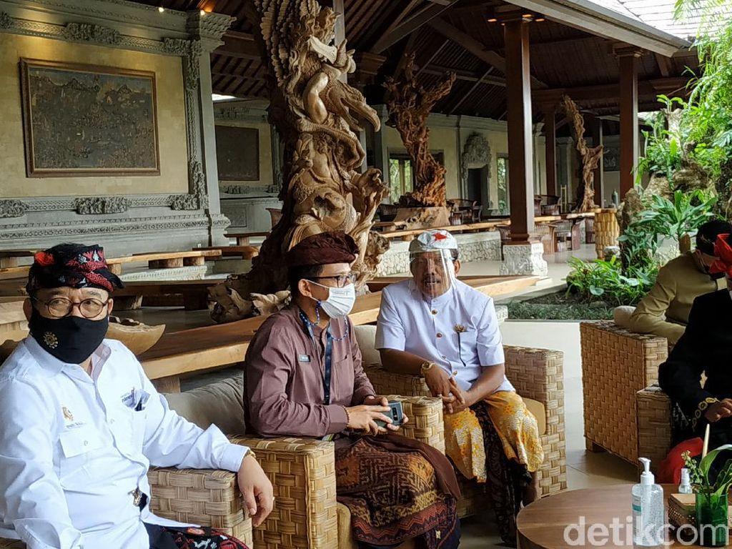 Sandiaga-PHRI Rancang Program Bekerja dan Sekolah dari Bali
