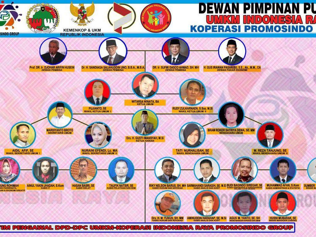 Pamflet UMKM Indonesia Raya Catut Dasco-Sandiaga, Gerindra Pastikan Hoax