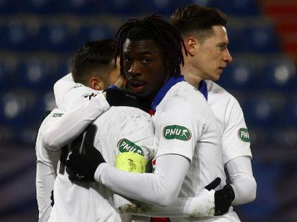 Piala Prancis: PSG Bungkam Tuan Rumah Caen 1-0