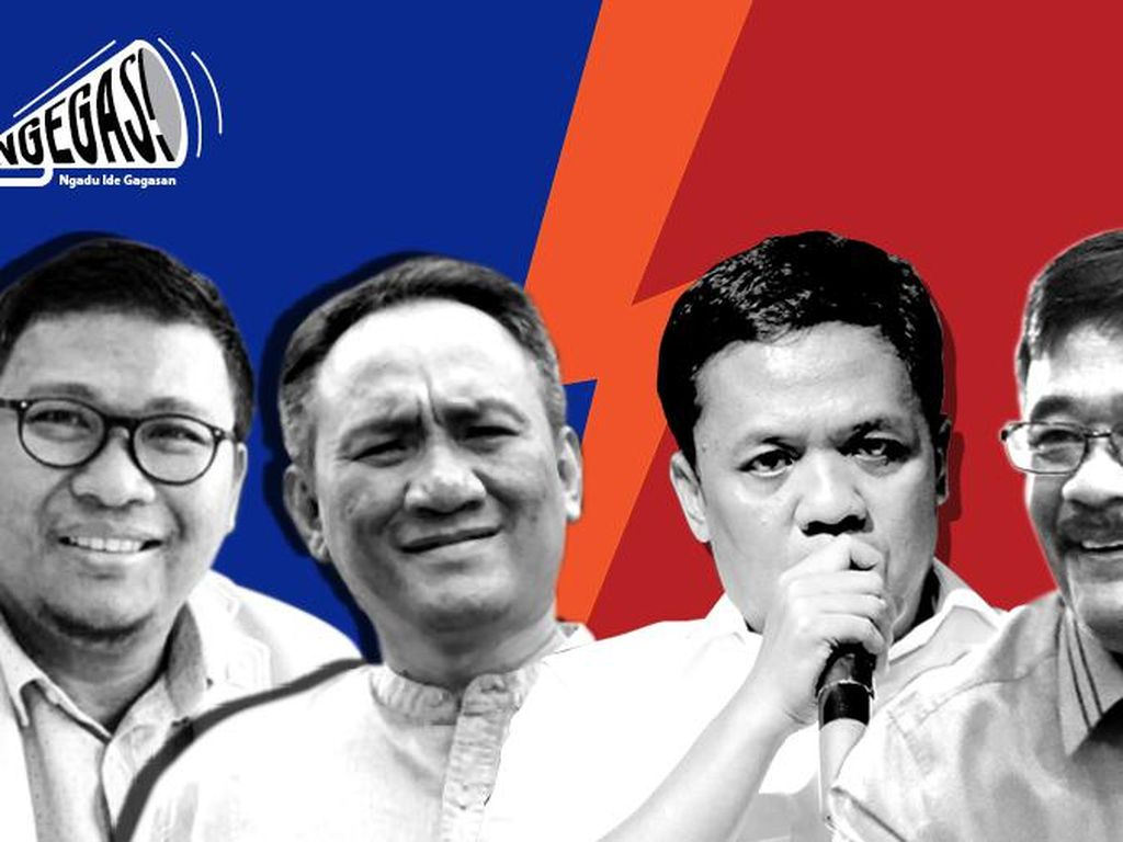PD vs PDIP di Isu Jokowi Siapkan Gibran Jadi DKI-1