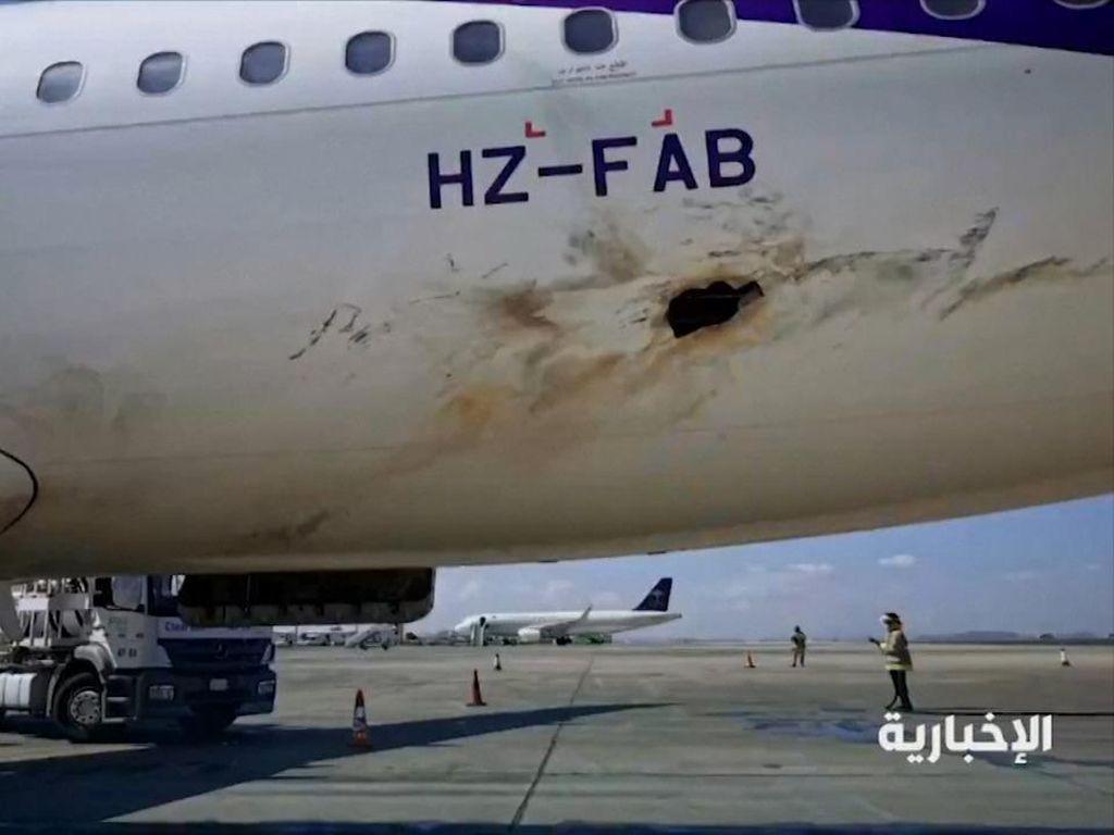 Arab Saudi Kembali Cegat Drone Houthi Usai Serangan Bandara Abha