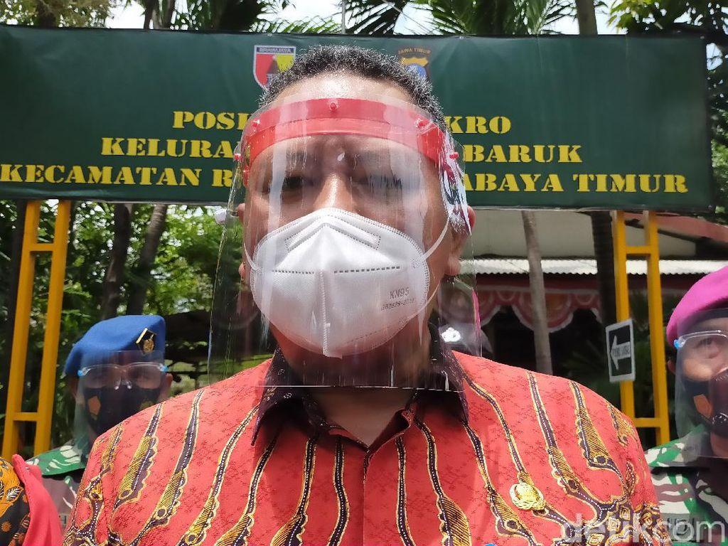 Wali Kota Whisnu Tegaskan Surabaya Tak Punya RT Zona Merah