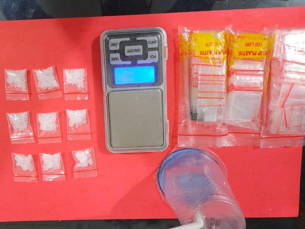 Caca dan Pacar Ditangkap Nyabu di Lampung, Ini Paket Narkoba yang Disita