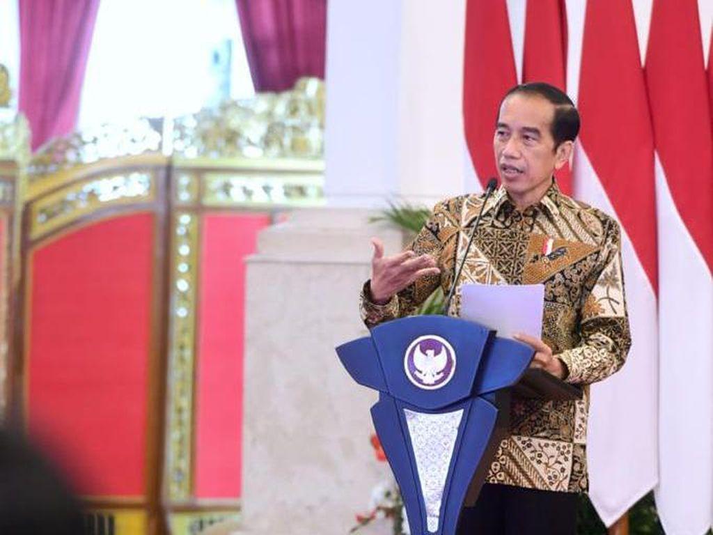 Jokowi: Kasus Aktif Corona di RI di Bawah Dunia, Positivity Rate Turun