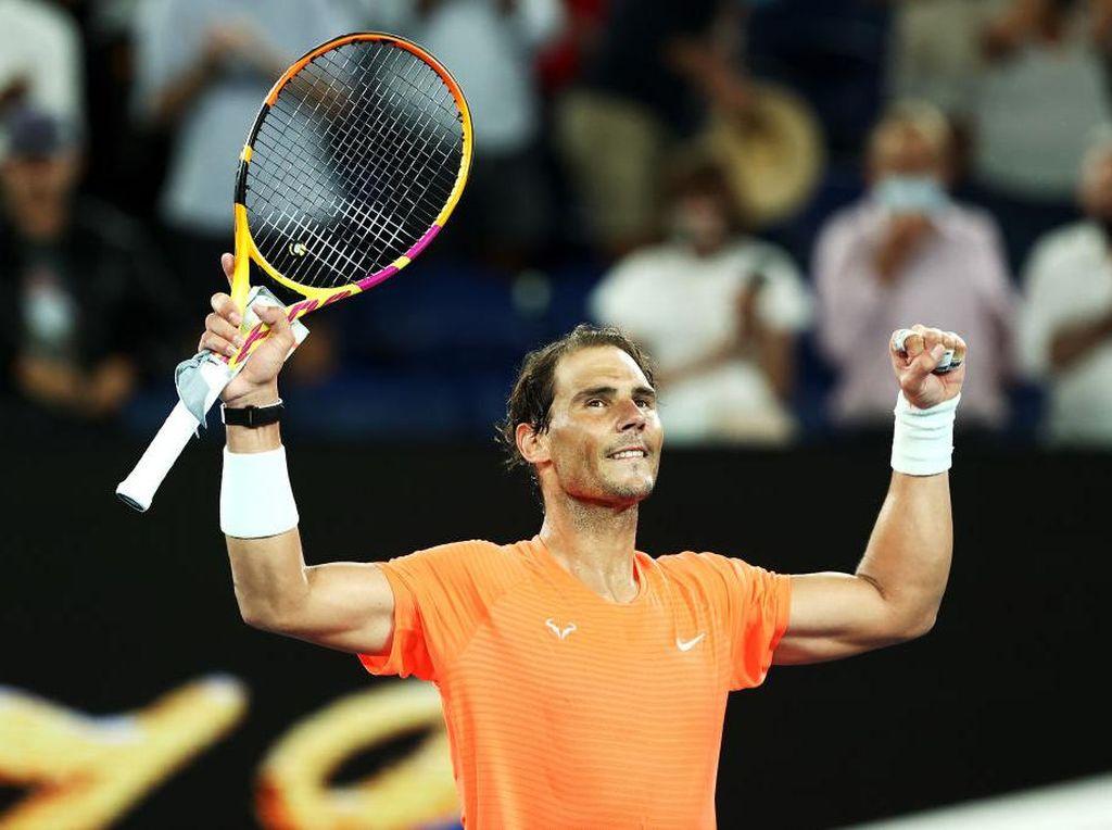 Australia Terbuka 2021: Rafael Nadal Melaju, Sofia Kenin Tersingkir