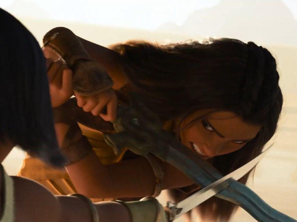 Raya and the Last Dragon Munculkan Batik Setelah Keris dan Pencak Silat